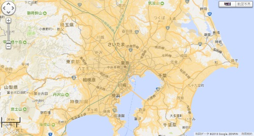 WiMAXエリア地図