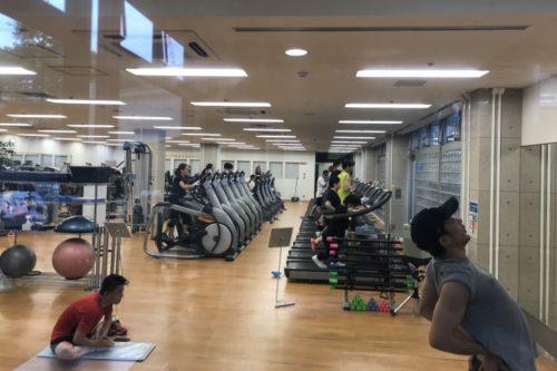 東京体育館トレーニングルーム