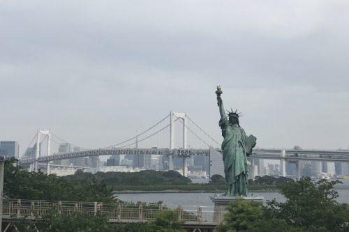 お台場自由の女神像