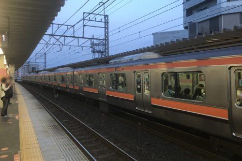 武蔵野線武蔵浦和駅ホーム