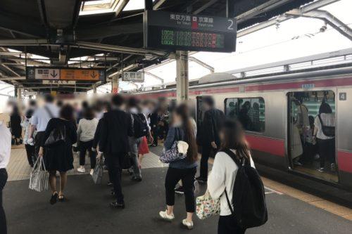 新木場駅ホーム