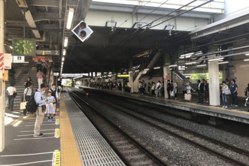南武線武蔵溝ノ口駅