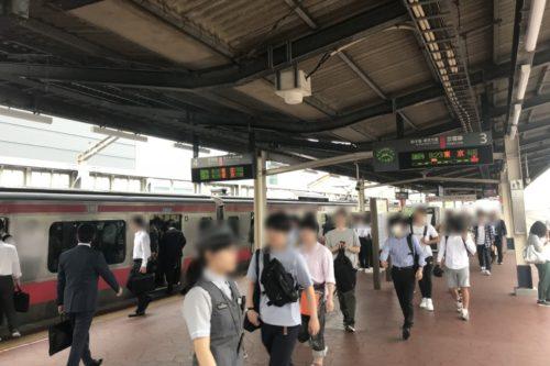 新浦安駅ホーム