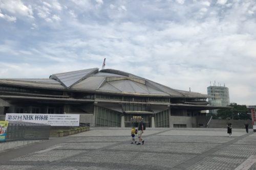 東京体育館前