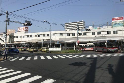 あざみ野駅前交差点