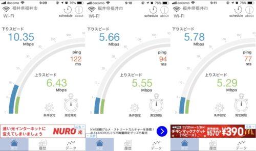 福井駅前調査結果
