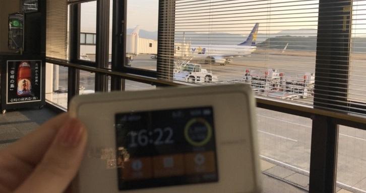 長崎空港WiMAX