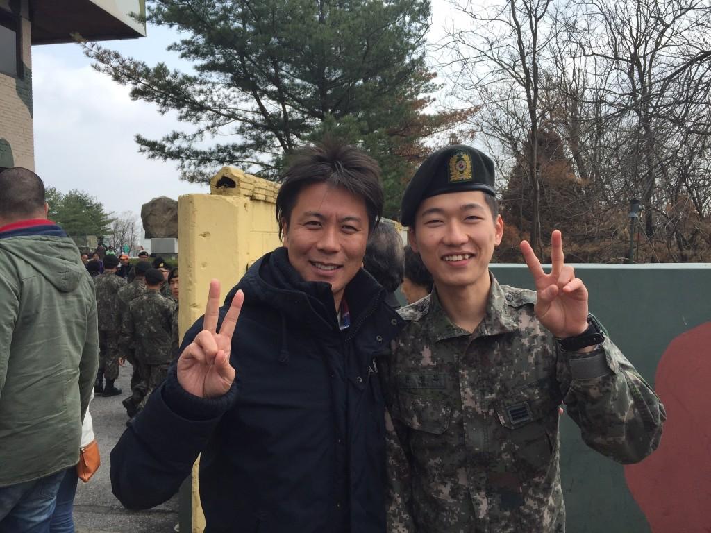 韓国の徴兵