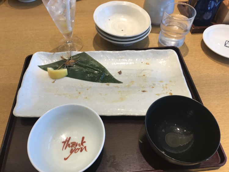 食べ終わり
