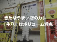 【きたなうまい店】大井町『牛八』はボリューム満点すぎた