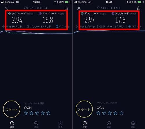格安SIM接続スピードa