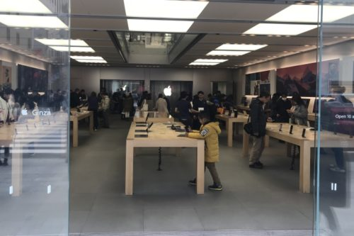 apple店頭