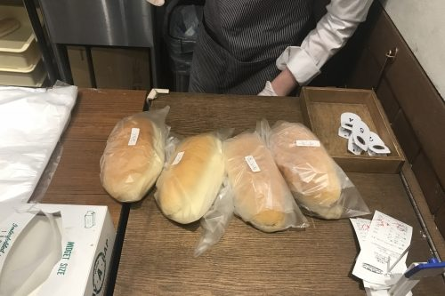 市ヶ尾コッペパン購入1