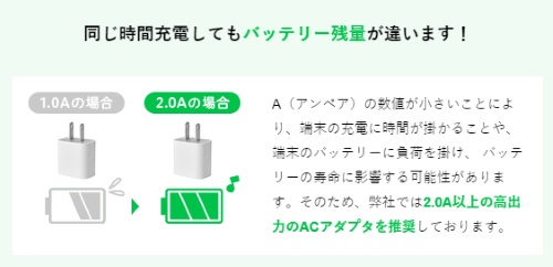充電器オプション