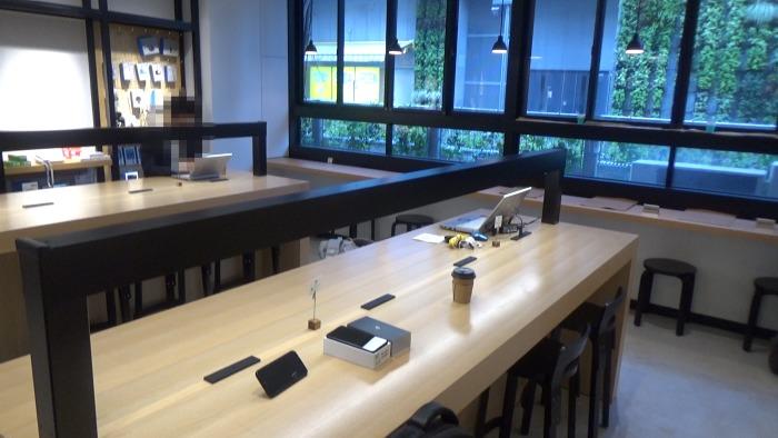 エックスモバイルカフェの雰囲気