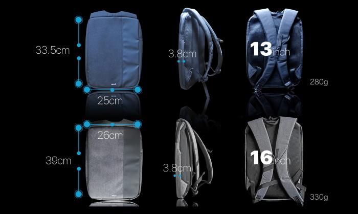 MinZ Thin Packサイズ