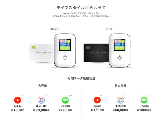 nomadSIM100GBで充分