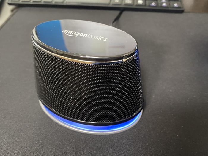 AmazonベーシックPCスピーカー使用感2