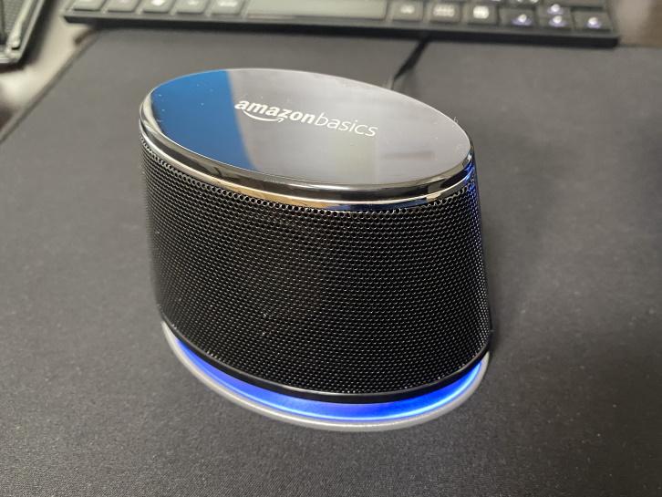 Amazonベーシックダイナミックサウンドスピーカーのレビュー
